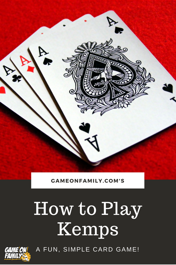 How to Play Kemps a fun, simple card game! Group card
