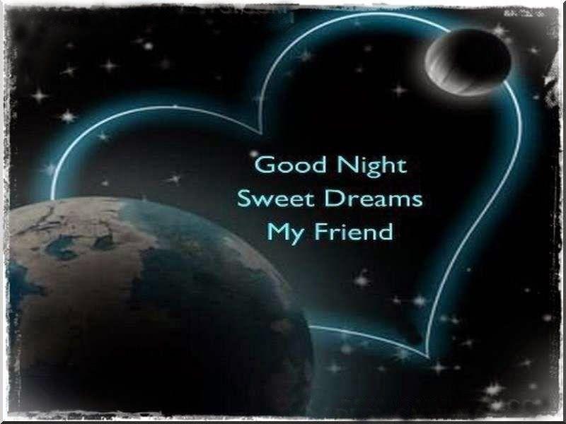 Friend Sweet Dreams Good Night Image Downloading