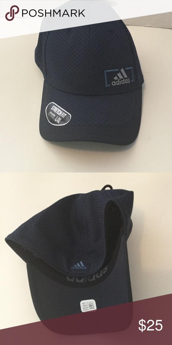 aec7c9ae58787 NEW Mens Adidas Stretch Fit Climalite Hat NWT Mens Adidas Stretch ...
