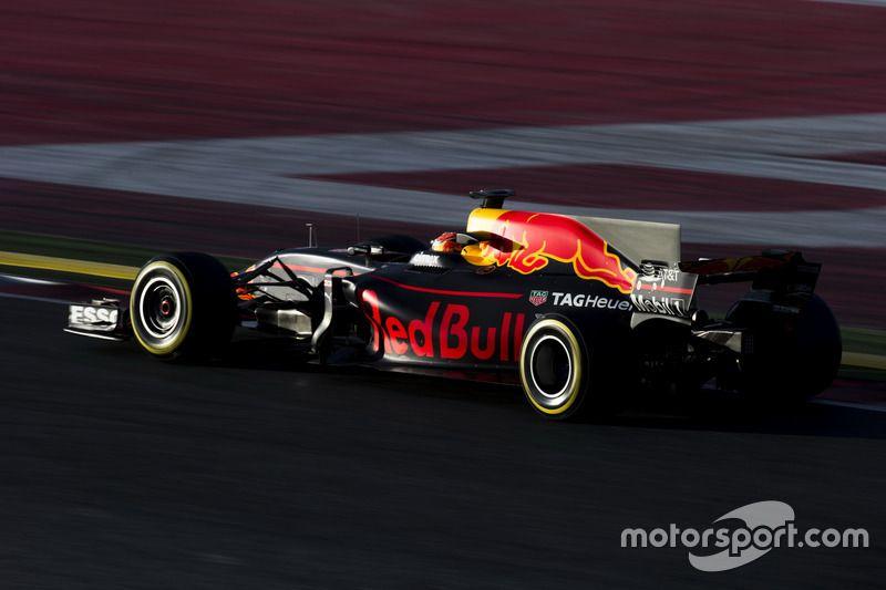 Max Verstappen, Red Bull Racing RB13 beim Test vor der Saison in Barcelona I Hochauflösende professionelle Motorsportfotografie