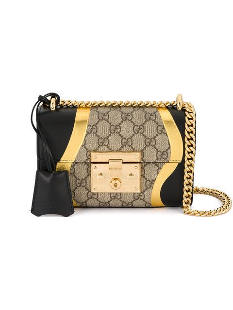 a4f7fe332d3b GUCCI Padlock GG Supreme shoulder bag. #gucci #bags #shoulder bags #hand  bags #canvas #suede #lining #