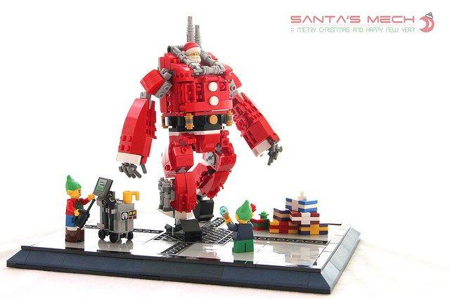 Pere Noel Lego Upgrader les équipements du Père Noël   HelloBricks | Pere noel