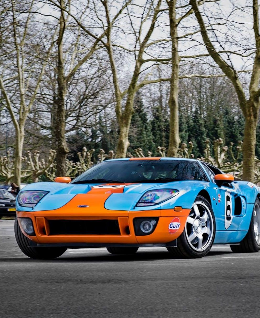 Ford Gt Gulf Livery Ford Gt Classic Cars Usa Ford Gt Gulf