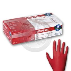 Unigloves Strong Pink Pearl Nitrile Beautician Latex Free Disposable Gloves