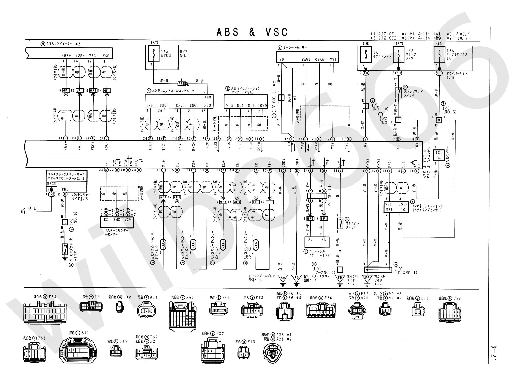 5a Engine Wiring Diagram And Wilbo    Jz