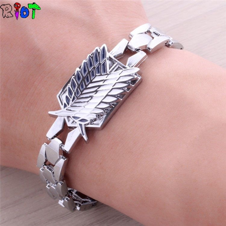 Attack On Titan Bracelet Shingeki No Kyojin Bracelets Cosplay Props