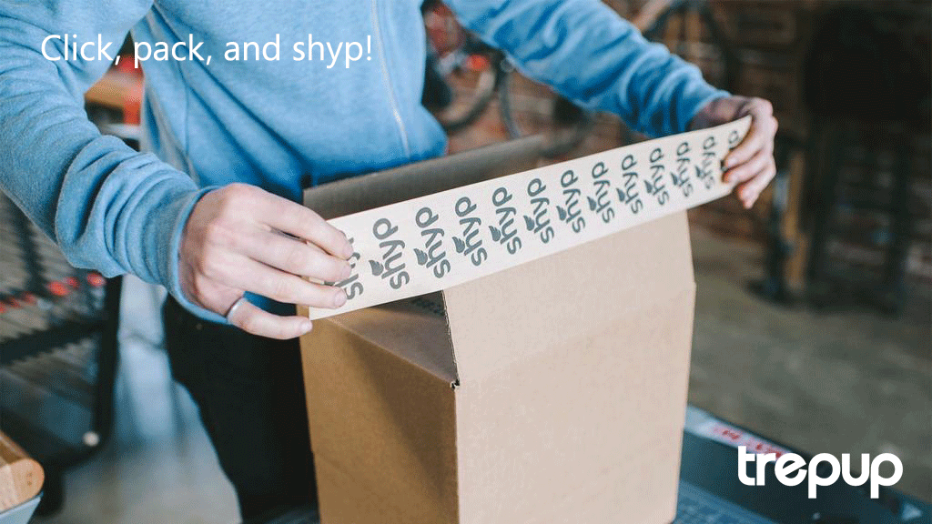 Don't ship, just Shyp! No more long lines, no more sticky adhesive tape. Shyp will do it all for you.  http://trepup.co/1HpnXnr