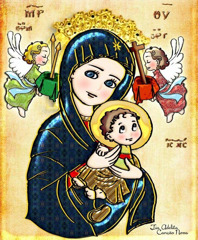 Pin De Diane Bustilo En Virgen Maria Figuras Religiosas Pintura Cristiana Ilustracion Religiosa