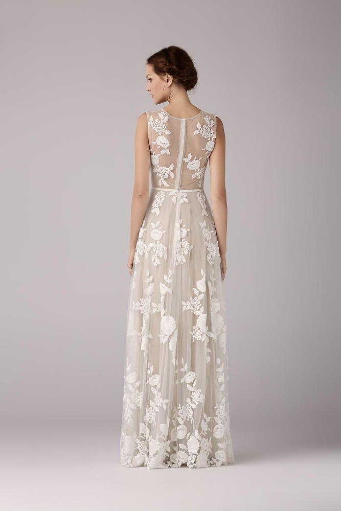 f6a6edea95550 Wedding dress Robe de mariée Anna Kara Arya chez Plume Paris ...