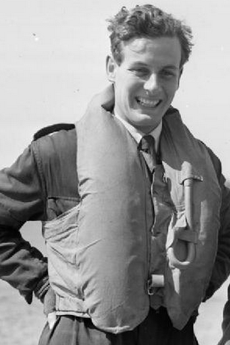 31st August 1940 - During combat with Bf 110s over Tonbridge, Group Captain Peter Townsend was shot down and wounded in the left foot by a cannon shell which went through the glycol tank and exploded in the cockpit. He continued to lead the unit on the ground even after this wound resulted in his big toe being amputated, and he returned to operational flying on 21 September