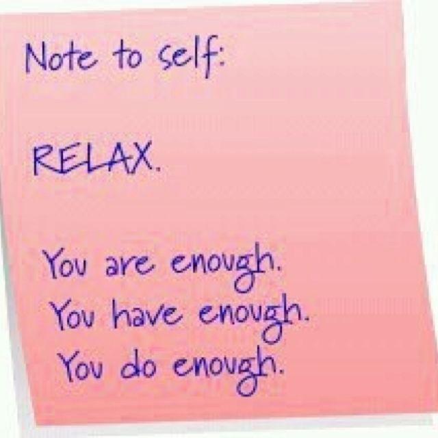 Sage advice.