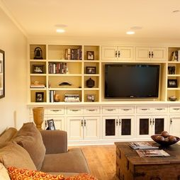 Family Room Entertainment Wall