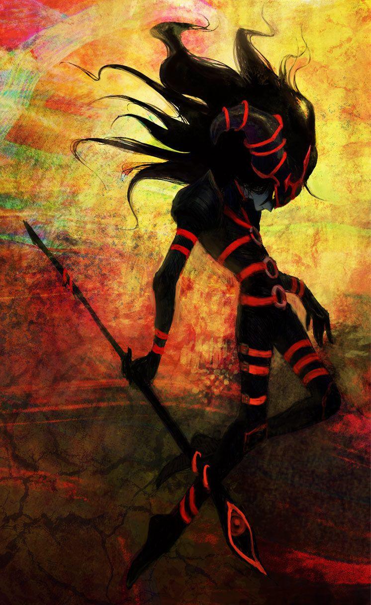 Magician of black chaos/ Mago del Caos Negro | cool nerd | Anime art