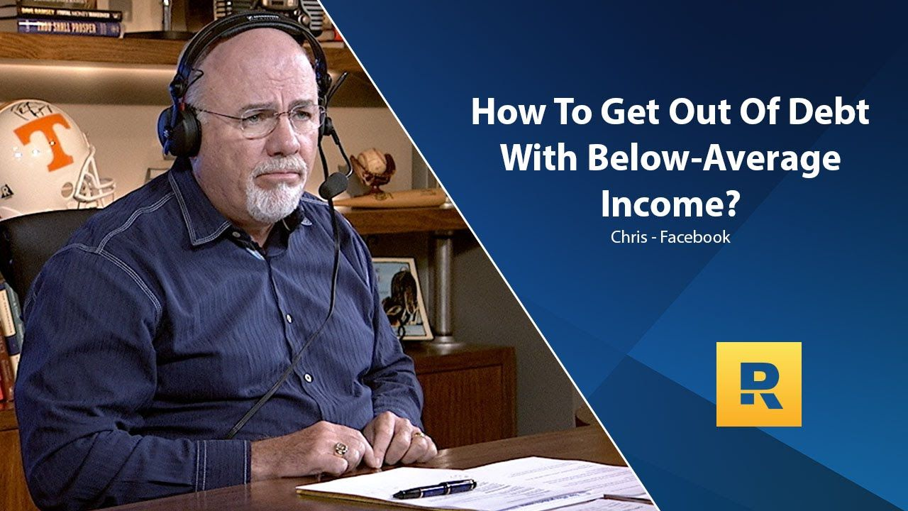 How Can A Family With A Below Average Income Get Out Of Debt?