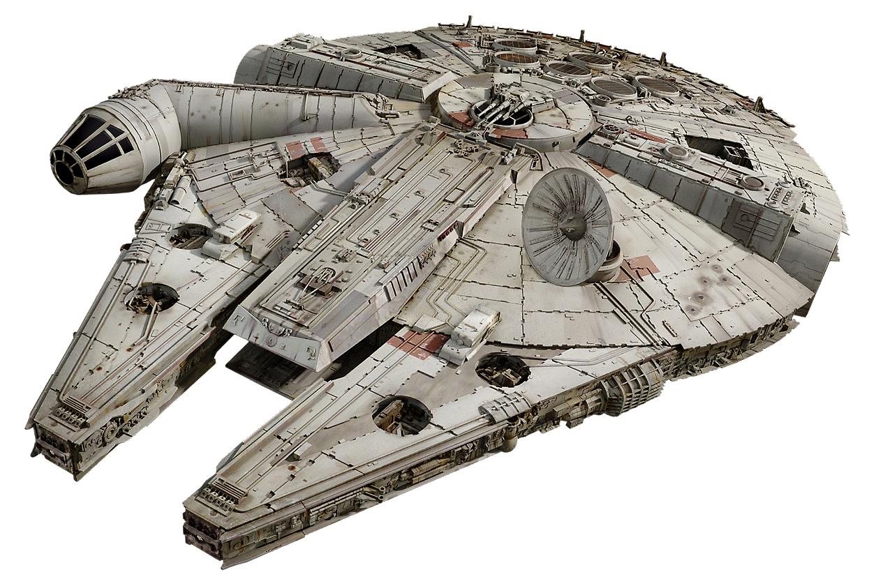 Millenniumfalcon2 Fathead Png 1245 840 Star Wars Festa Star Wars Nave Star Wars