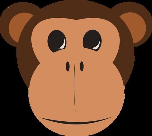 Maymun Vektor Kucuk Resim Maymunlar Clip Art Resim