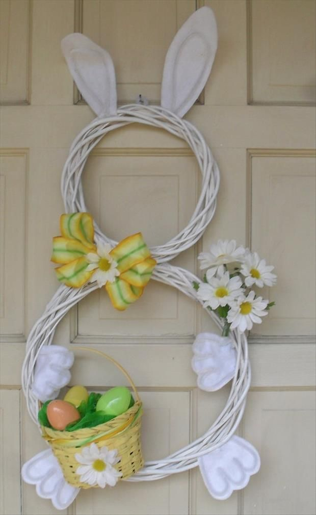30 creative diy easter bunny decorations pinterest easter crafts fun do it yourself easter crafts 34 pics more solutioingenieria Choice Image