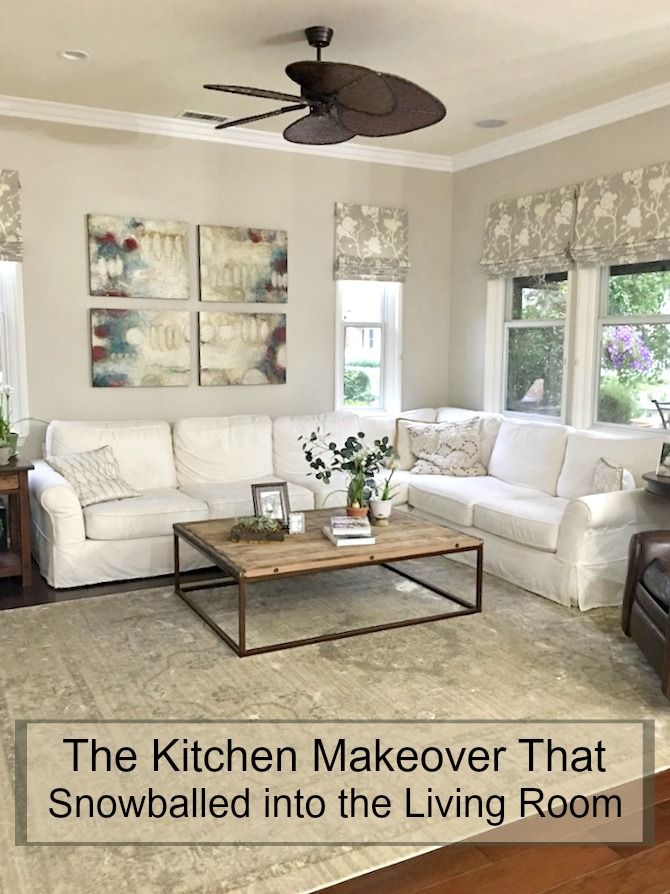 The kitchen makeover that snowballed into the living room the kitchen makeover that snowballed into the living room workwithnaturefo