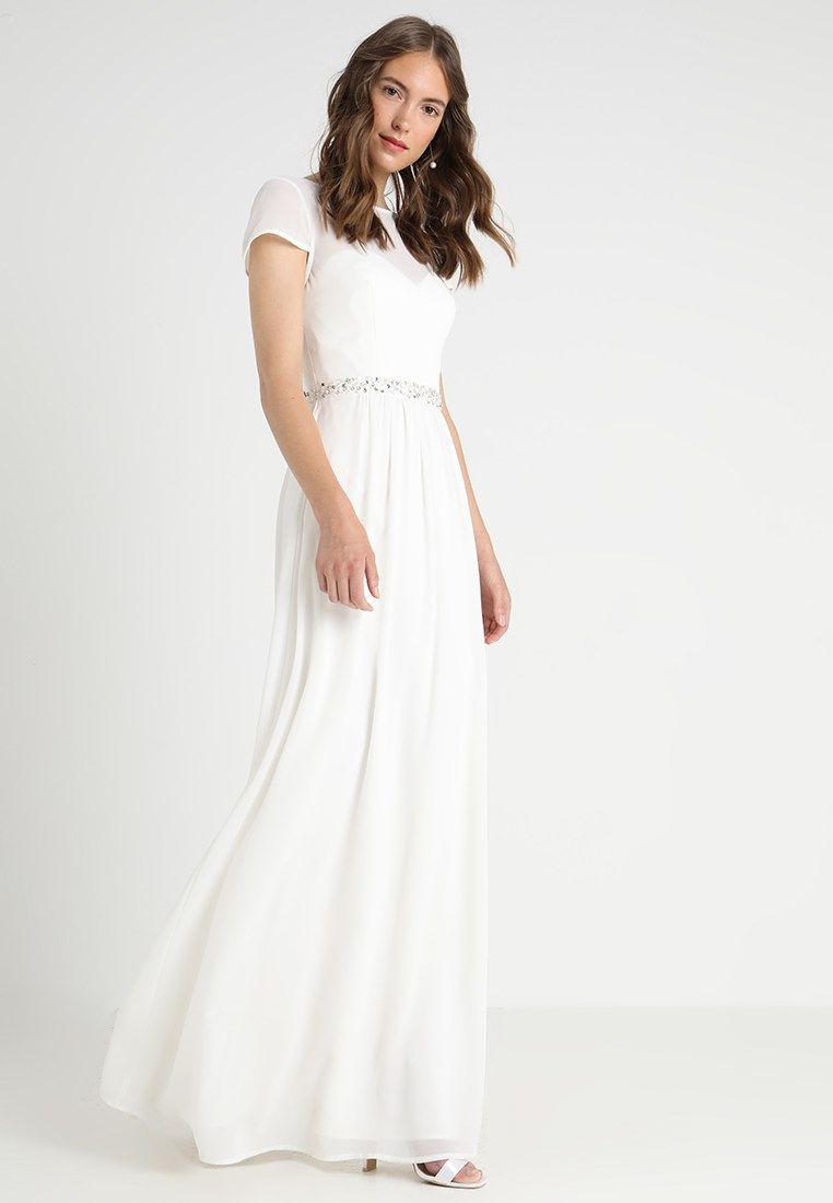 Young Couture By Barbara Schwarzer Occasion Wear White Zalando Co Uk Dresses White Dress White Formal Dress