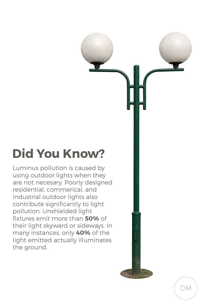 How does outdoor lighting cause light pollution light pollution causes types of light pollution del mar fans lighting arubaitofo Gallery