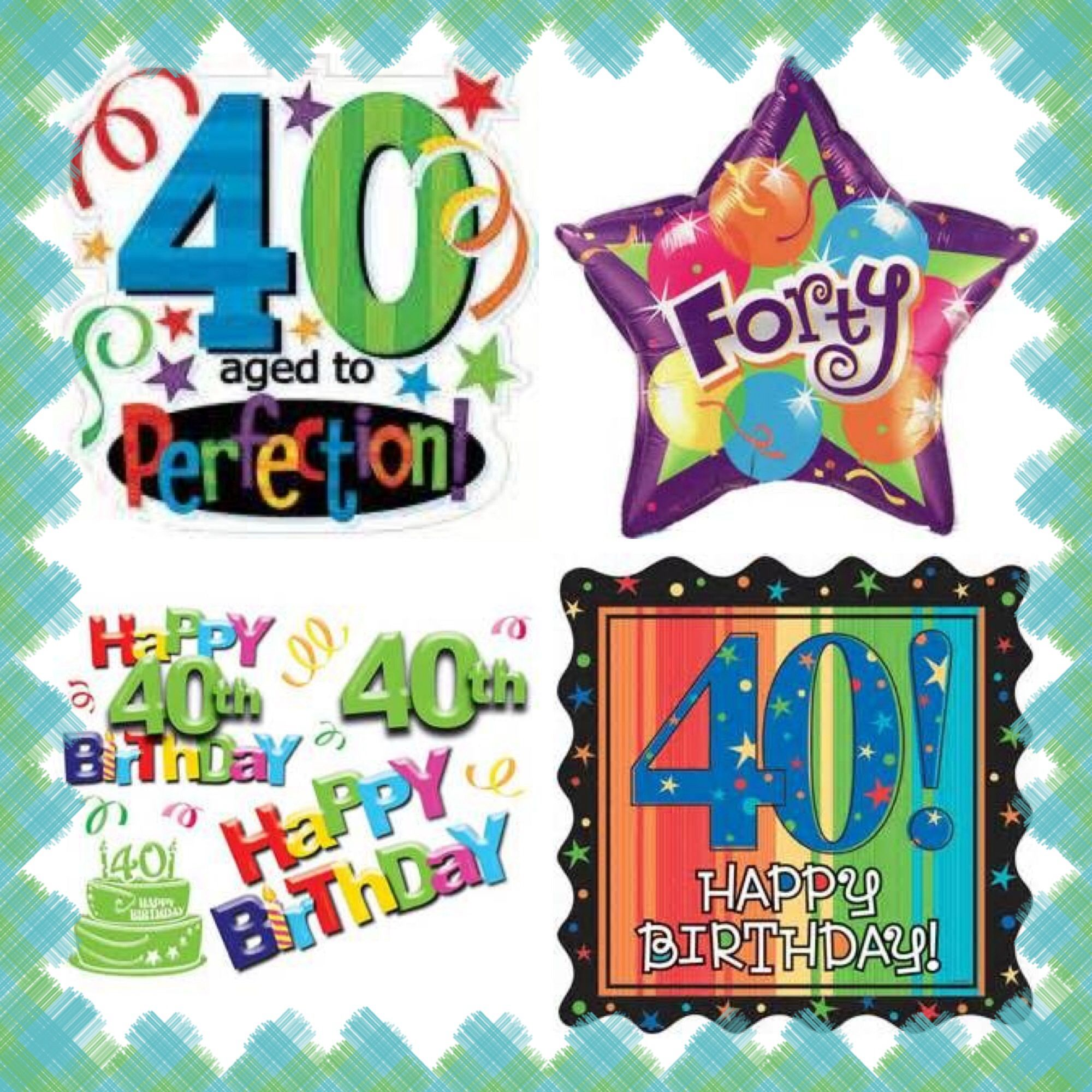 HAPPY 40th BIRTHDAY ✨ HAPPY BIRTHDAY Pinterest