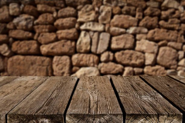 table background.  Background Empty Wood Table With Dark Vertical Background And Table Background
