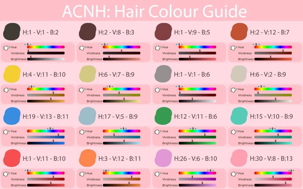 Beatrice On Twitter Animal Crossing Hair Animal Crossing Hair Guide New Animal Crossing