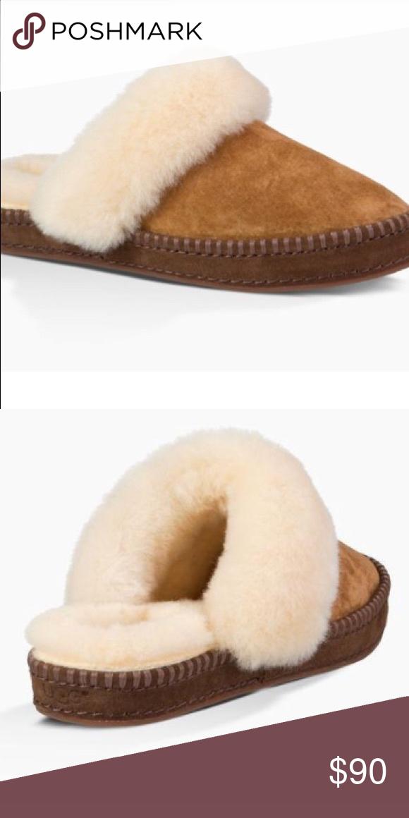 706bdca46db ❣️HP 10/25❣️UGG Women's Aira Fur Trimmed Slipper UGG Women's ...