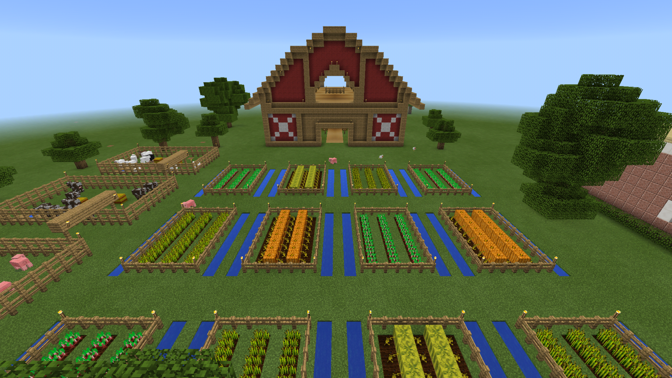 как в майнкрафте сделать ферму #3