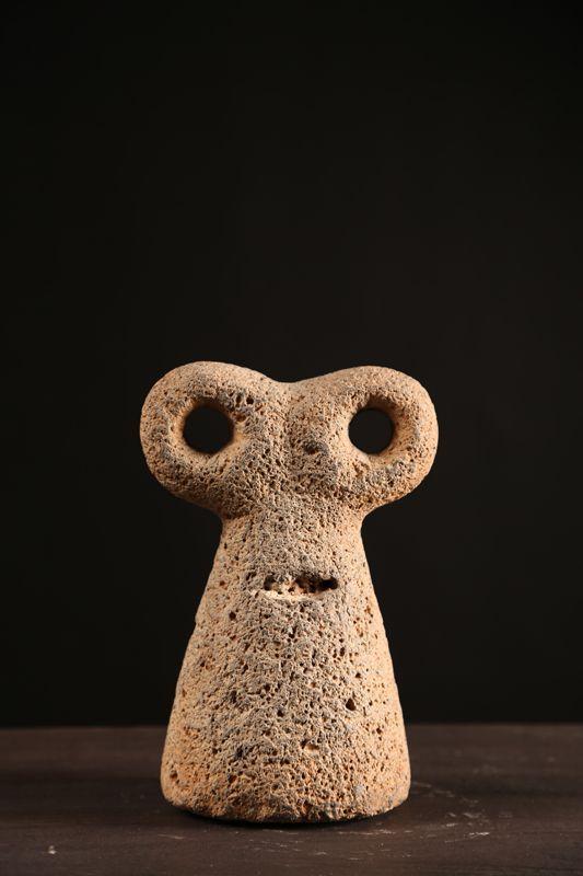 Eye Idol Basalt Tell Brak Mesopotamia 4th Millennium B C