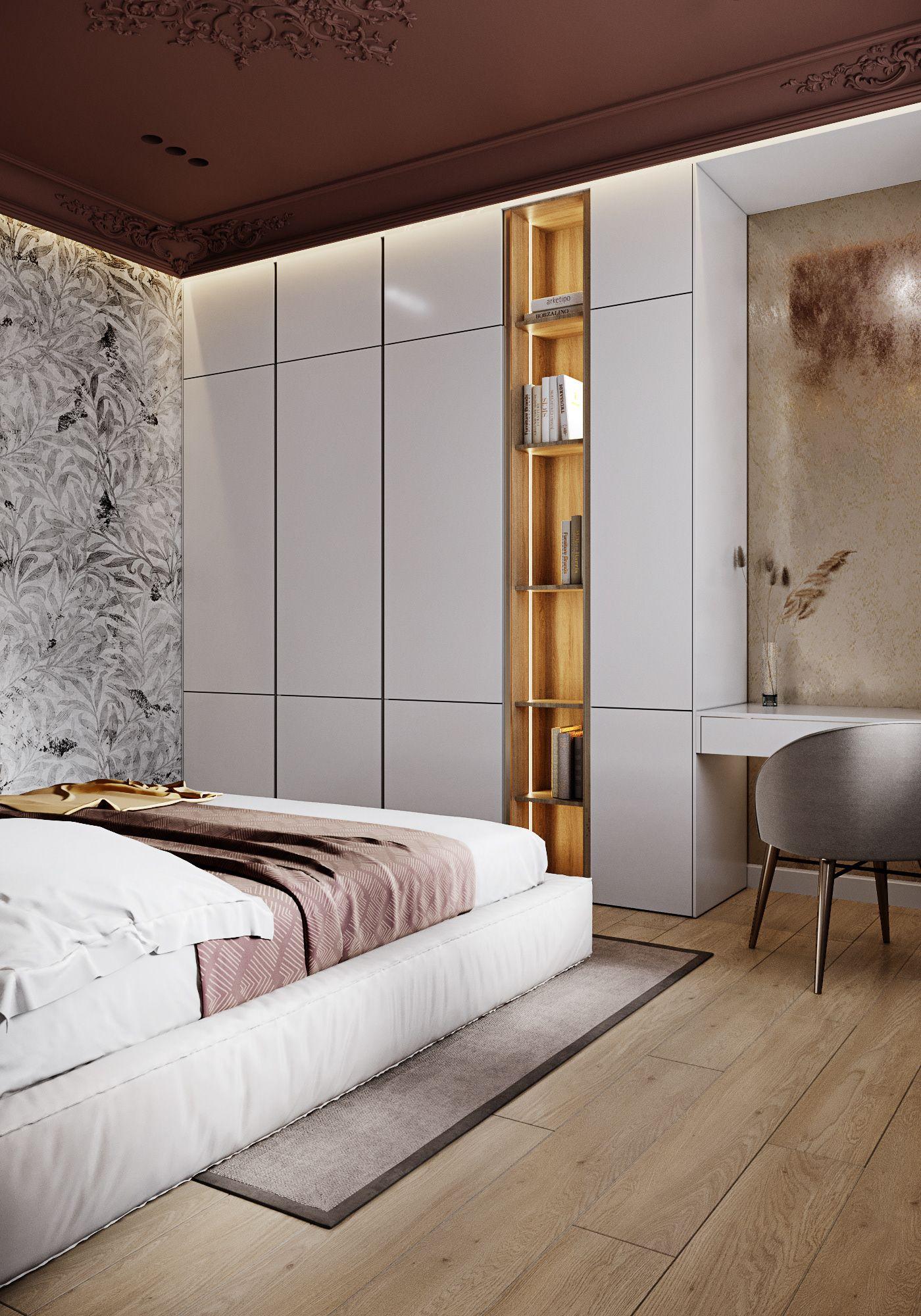 Image May Contain Indoor Furniture And Wall In 2021 Interior Design Bedroom Wardrobe Interior Design Bad Room Design Bedroom bad design 2021
