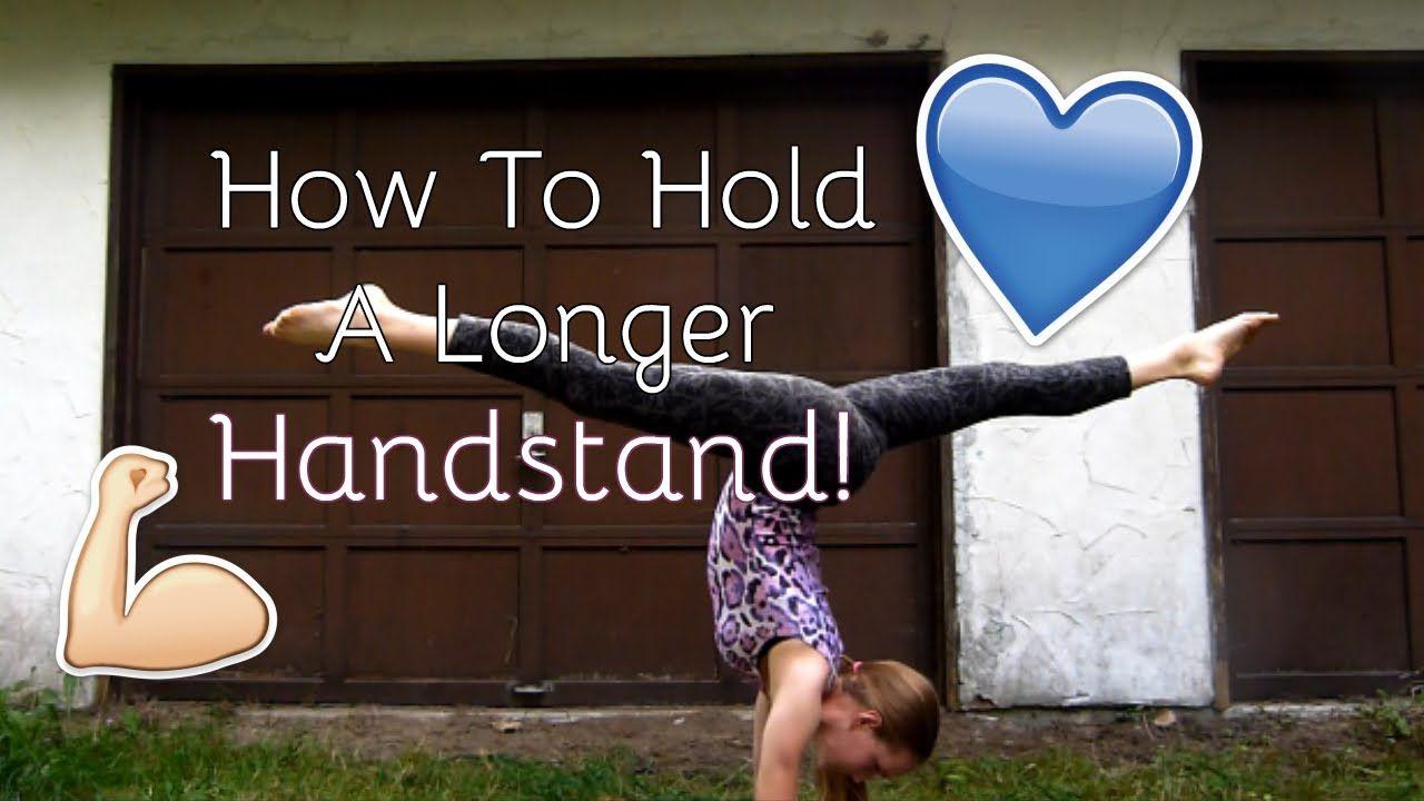 How To Hold A Longer Handstand!!! Geneva Gymnastics