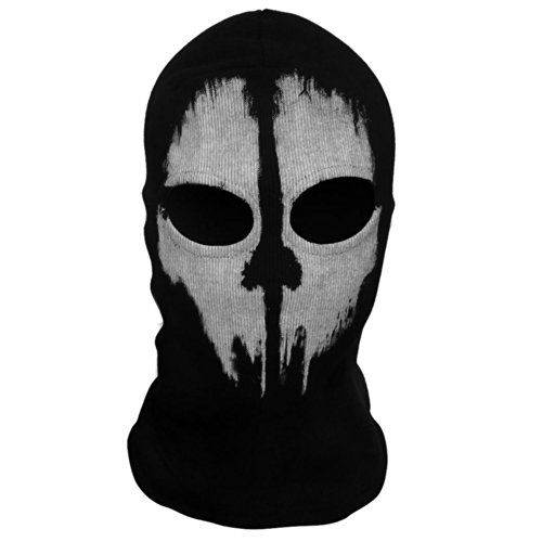 Ghost Balaclava Motorcycle Cycling Game Airsoft Full Face Mask Call of Duty 10
