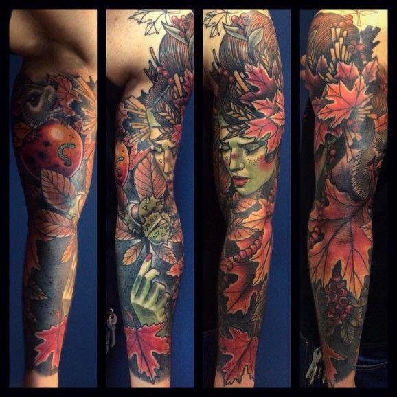 Amazing sleeve by Bartosz Panas