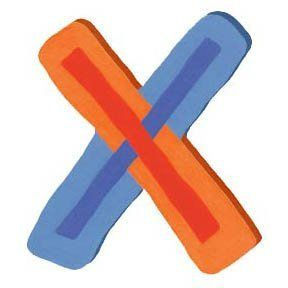 "Wooden Letter - X - Bright Orange & Blue by Tatutina. $7.95. Create a happy room with Tatutina's wall accents. Letters are approximately 7"" tall with keyhole mount.. Create a happy room with Tatutinas wall accents. Letters are approximately 7 inches tall with keyhole mount. Great for decorating every room in the house! Use as many as you want for names, initials, whatever!"