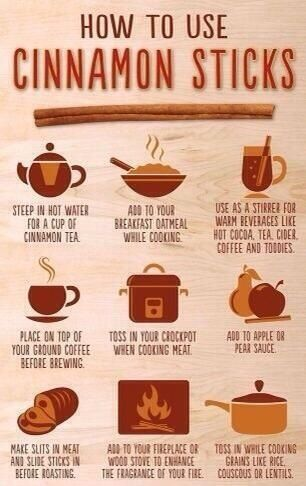 To extract how take cinnamon