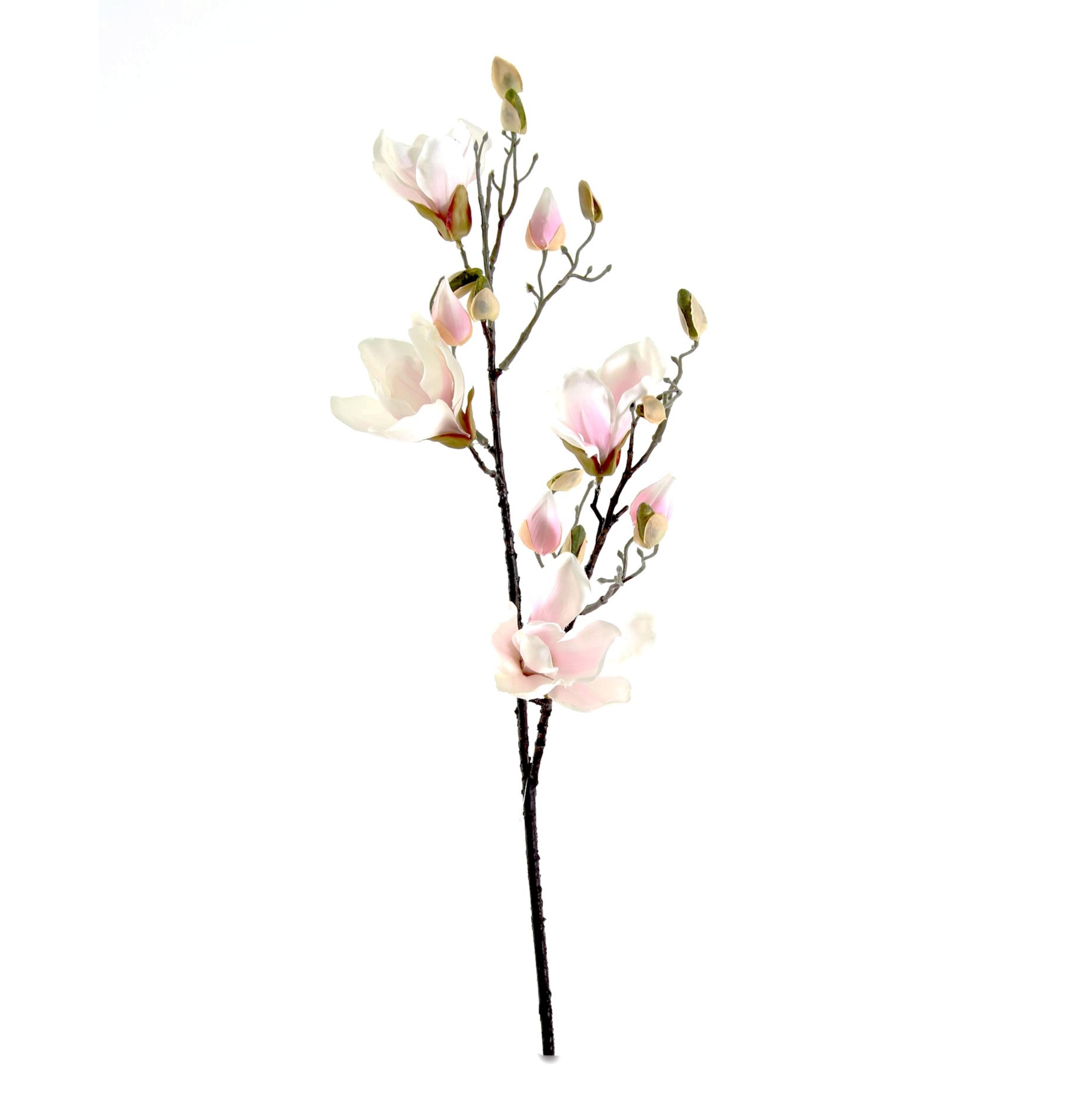 Verrassend Magnolia Wit - Roze 90 cm (met afbeeldingen) | Zijden bloemen BZ-18