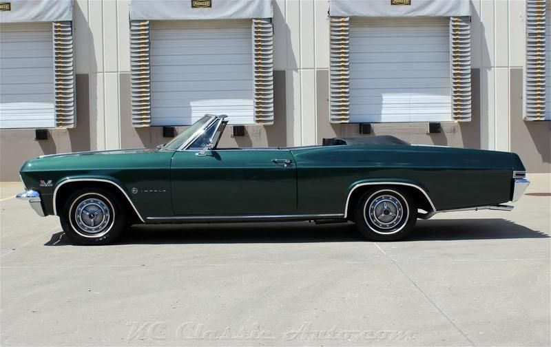Chevrolet Impala Convertible From Mid To Late 60 S Impala