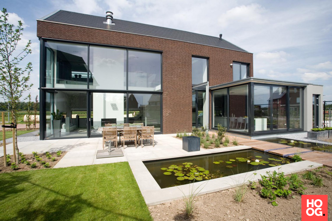 Bart van wijk nieuwbouwontwerp interieur en extérieur elst