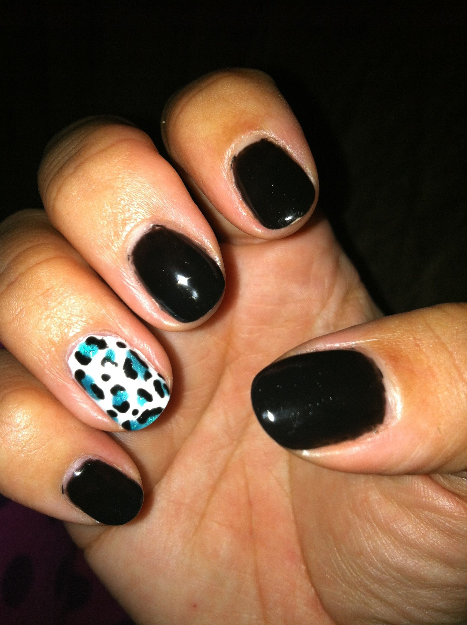Shellac nail art Like it but diff color | Life | Pinterest