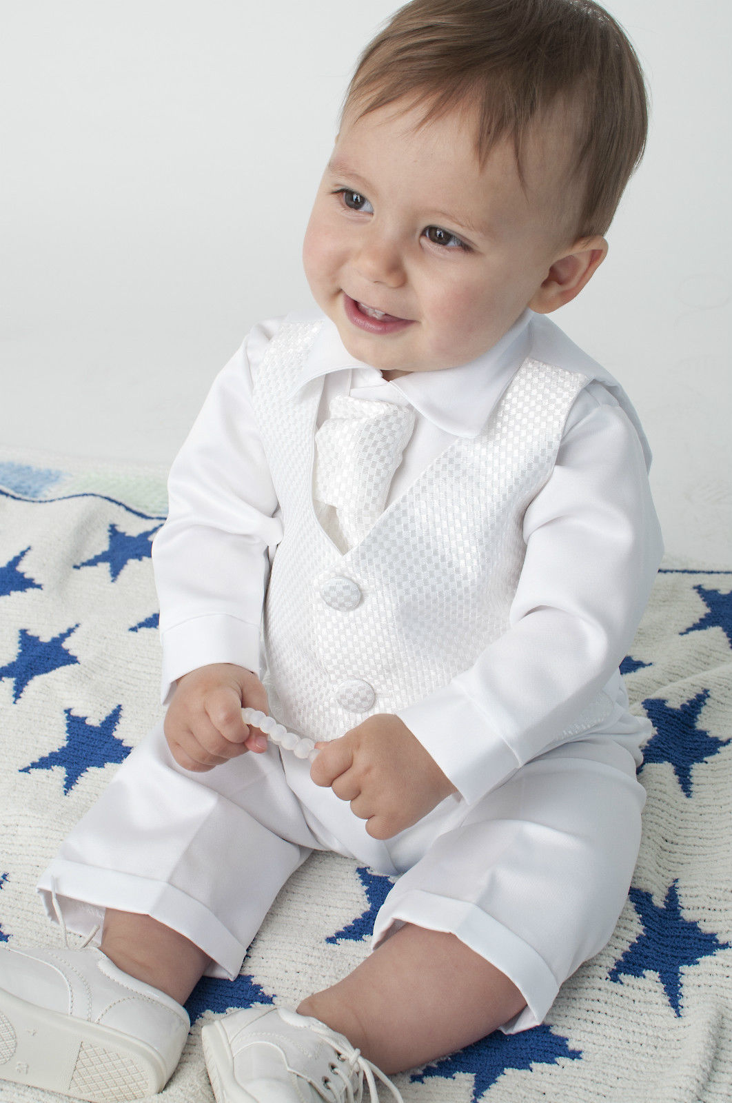 ropa bautizo bebe 4 meses