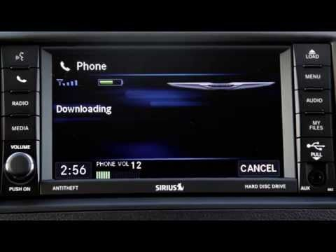2015 Chrysler Phone Pair Bluetooth Setup Uconnect 430 System Town