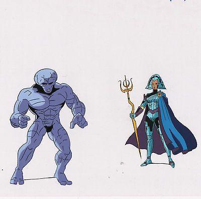 X-Men-Cel-Dark-Phoenix-Saga-Lilandra-Rock-Guard-1994-MATTED