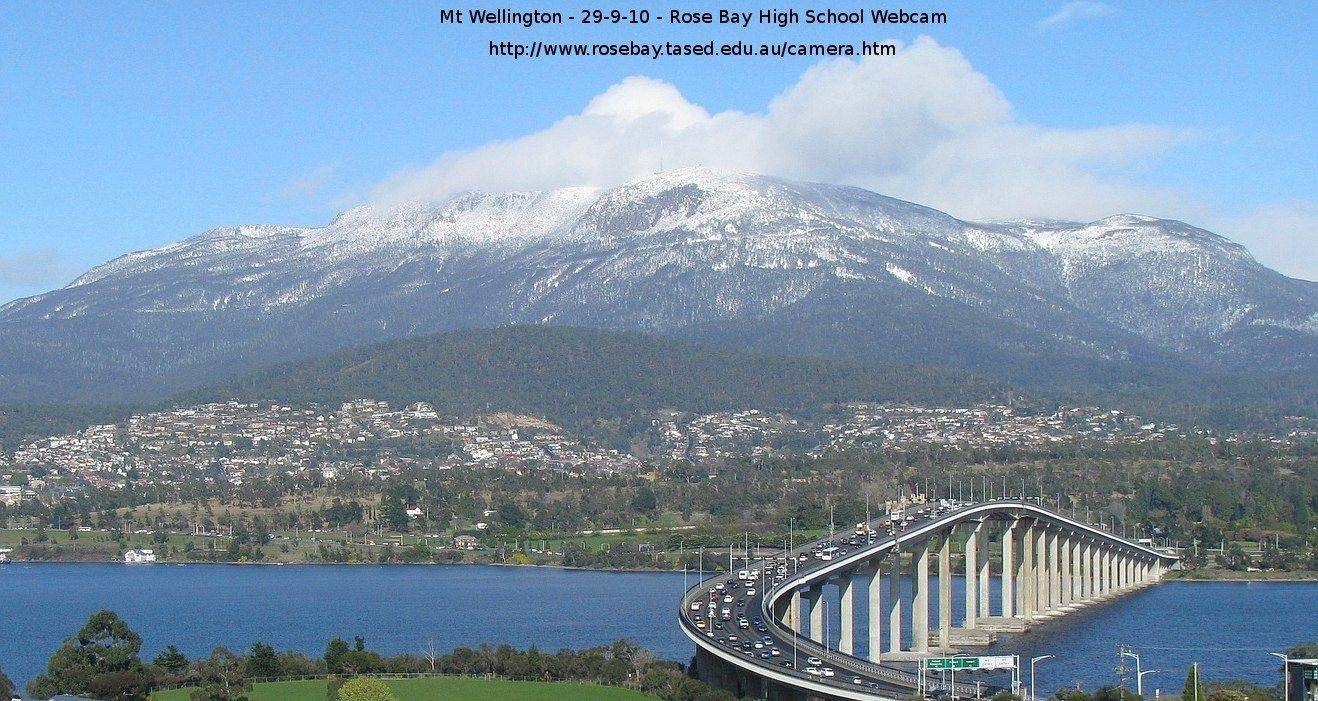 Mt Wellington, Hobart A lovely winter day! | The Changing ...