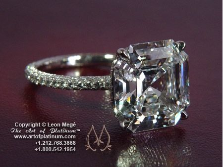 12 Carat Cher Diamond Engagement Ring By Leon Mege