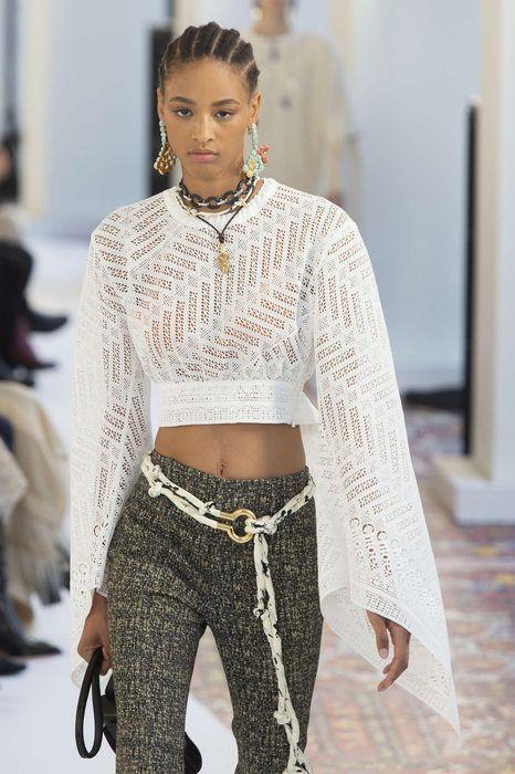 chloe printemps t 2019 paris womenswear. Black Bedroom Furniture Sets. Home Design Ideas