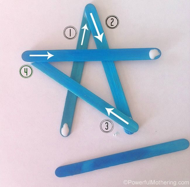 Personalized Kids Star Ornament - Christmas Crafts