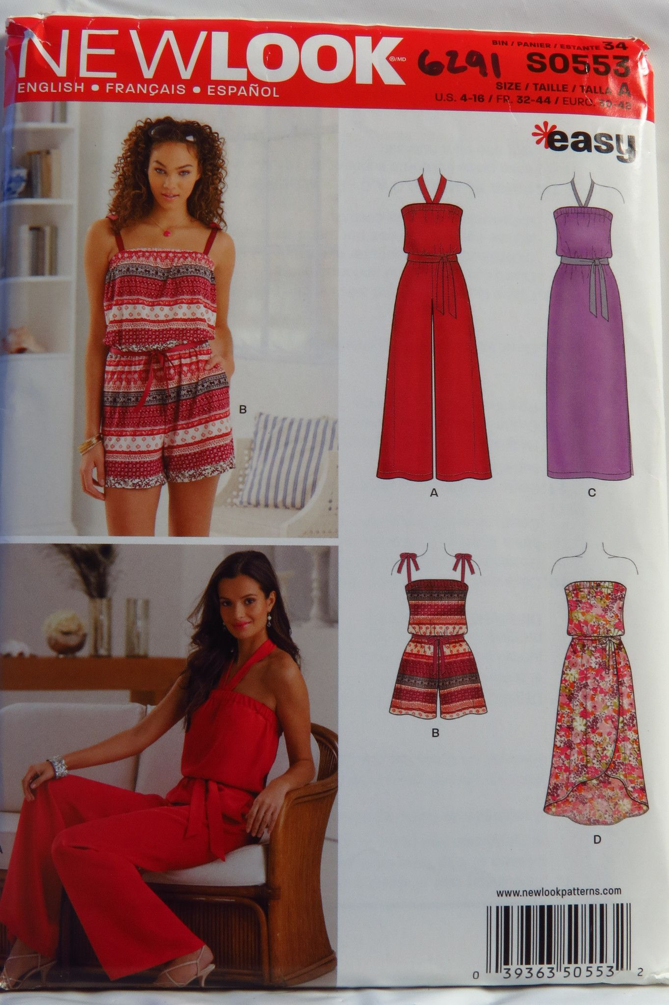New look missesu jumpsuit and dress each in two lengths in