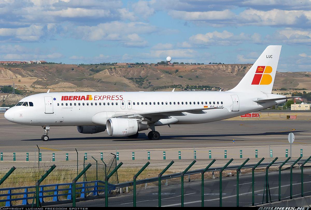Airbus A320214 Iberia Express Aviation Photo 2494603