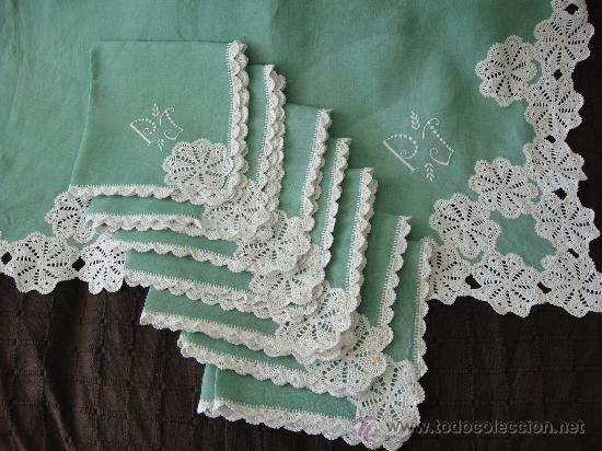 Puntillas al crochet para manteles imagui puntillas a - Puntas de ganchillo ...